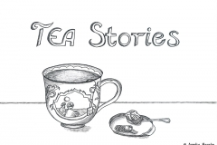 "Comic von einer Teetasse mit dem Titel ""TEA Stories"" - Copyright: Annika Baacke"