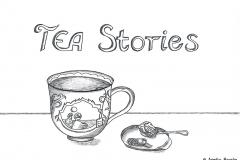"""Comic von einer Teetasse mit dem Titel """"TEA Stories"""" - Copyright: Annika Baacke"""