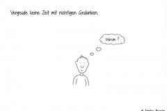 """Comicfigur mit der Denkblase """"Warum?"""" - Copyright: Annika Baacke"""