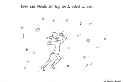 Comicfigur, die tanzt und springt und die Zunge herausstreckt - Copyright: Annika Baacke