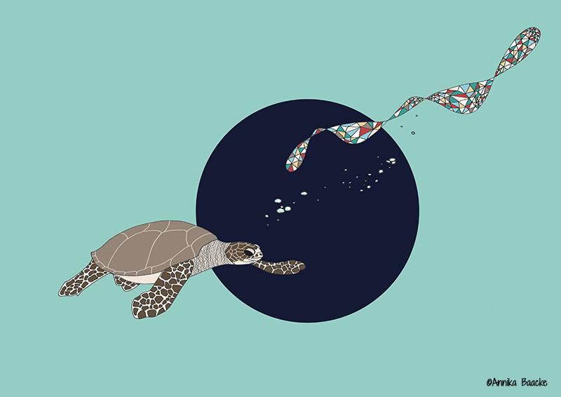 Alles eine Matrix - Illustration, Copyright: Annika Baacke