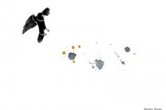 Montagmorgen - Illustration, Copyright: Annika Baacke