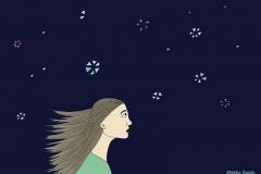 Wunder - Illustration, Copyright: Annika Baacke