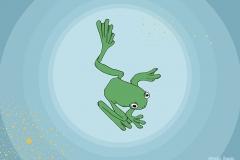 Wann ist der richtige Moment? - Illustration, Copyright: Annika Baacke