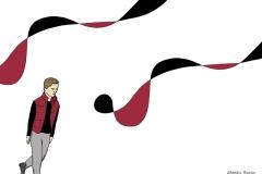 Wohin uns die Sehnsucht führt - Illustration, Copyright: Annika Baacke