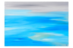 Annika Baacke Malerei- Horizonte Nr. 15