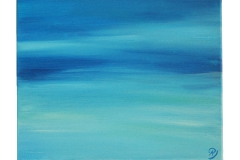 Annika Baacke Malerei- Horizonte Nr. 6