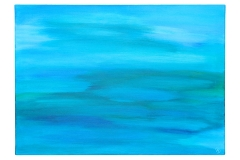 Annika Baacke Malerei- Horizonte Nr. 25